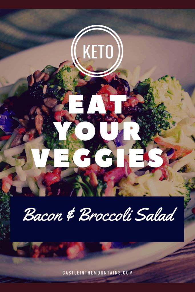 Keto Bacon Broccoli Salad Pins (2)