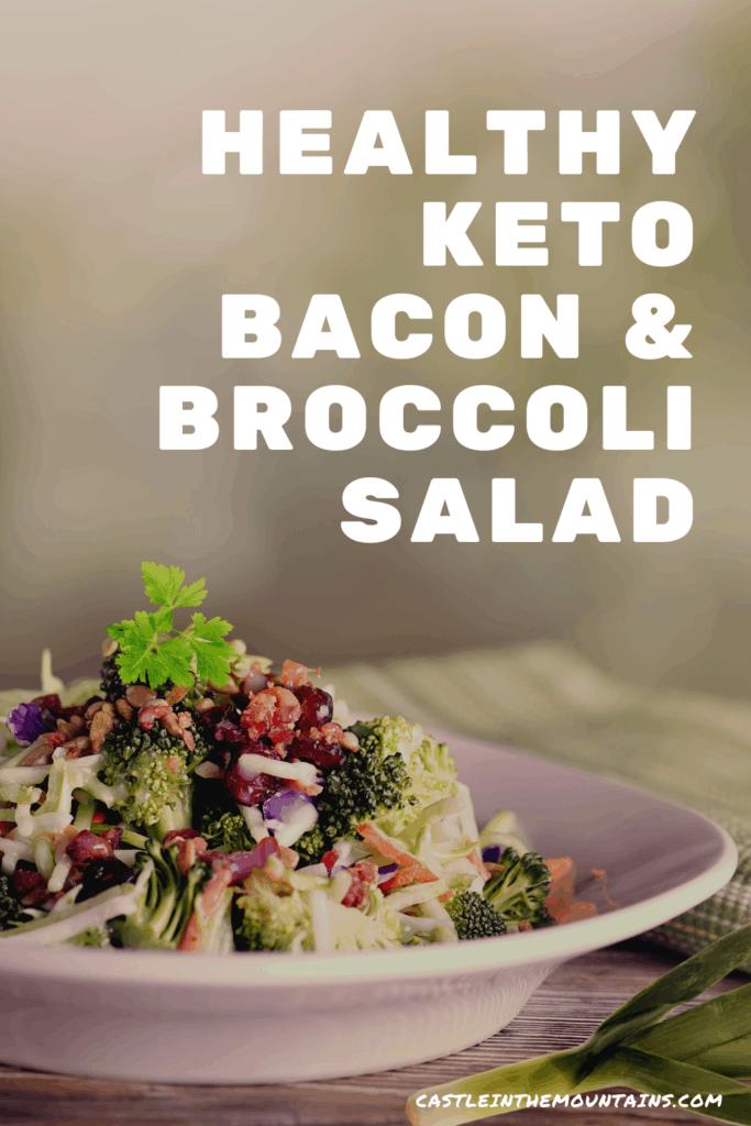 Keto Bacon Broccoli Salad Pins (3)