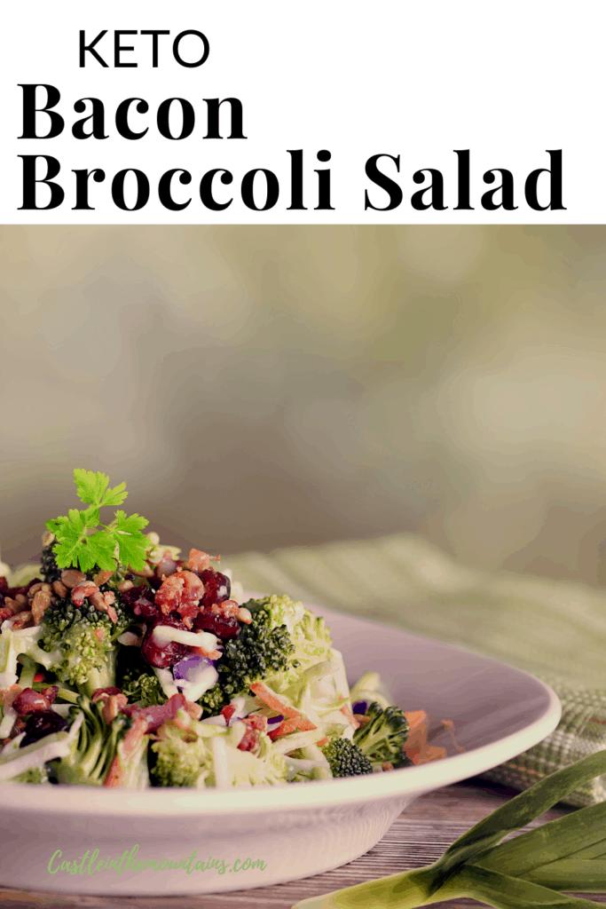 Keto Bacon Broccoli Salad Pins (5)