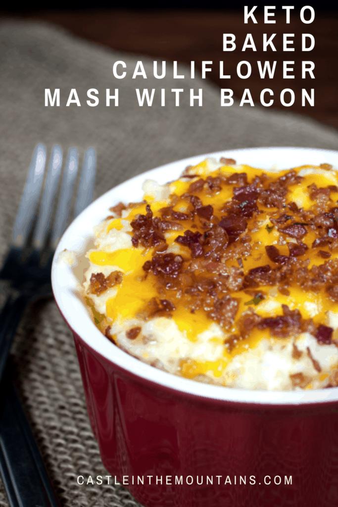 Keto Bacon Cauliflower Mash (4)
