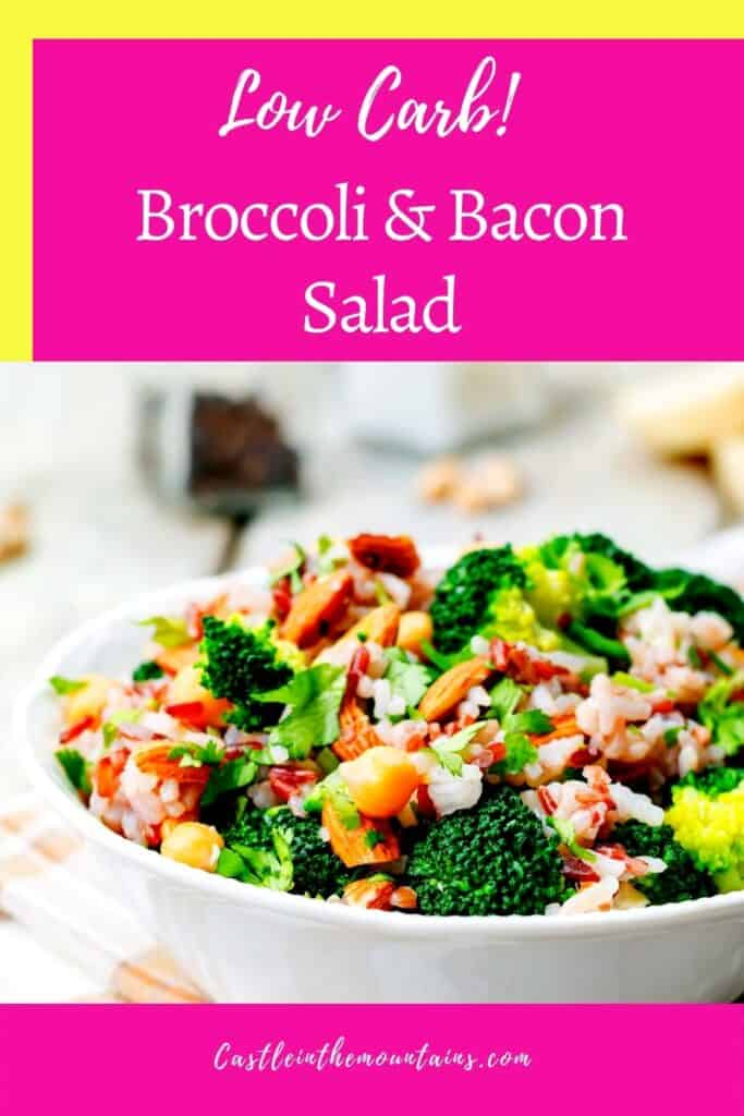 Keto Broccoli Bacon Salad Pins (1)