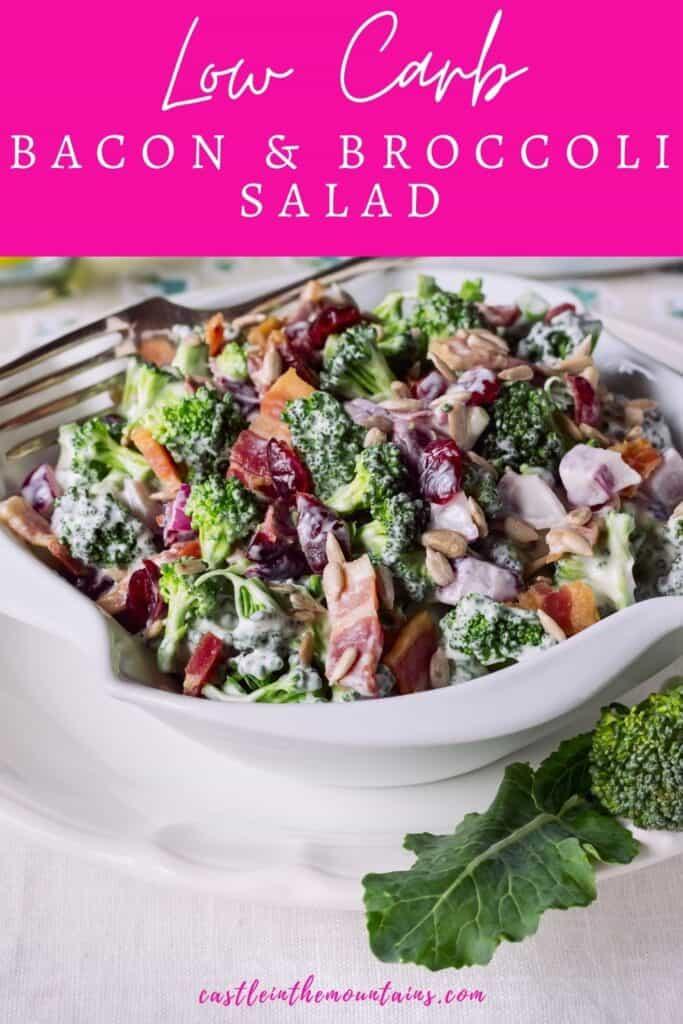 Keto Broccoli Bacon Salad Pins (2)
