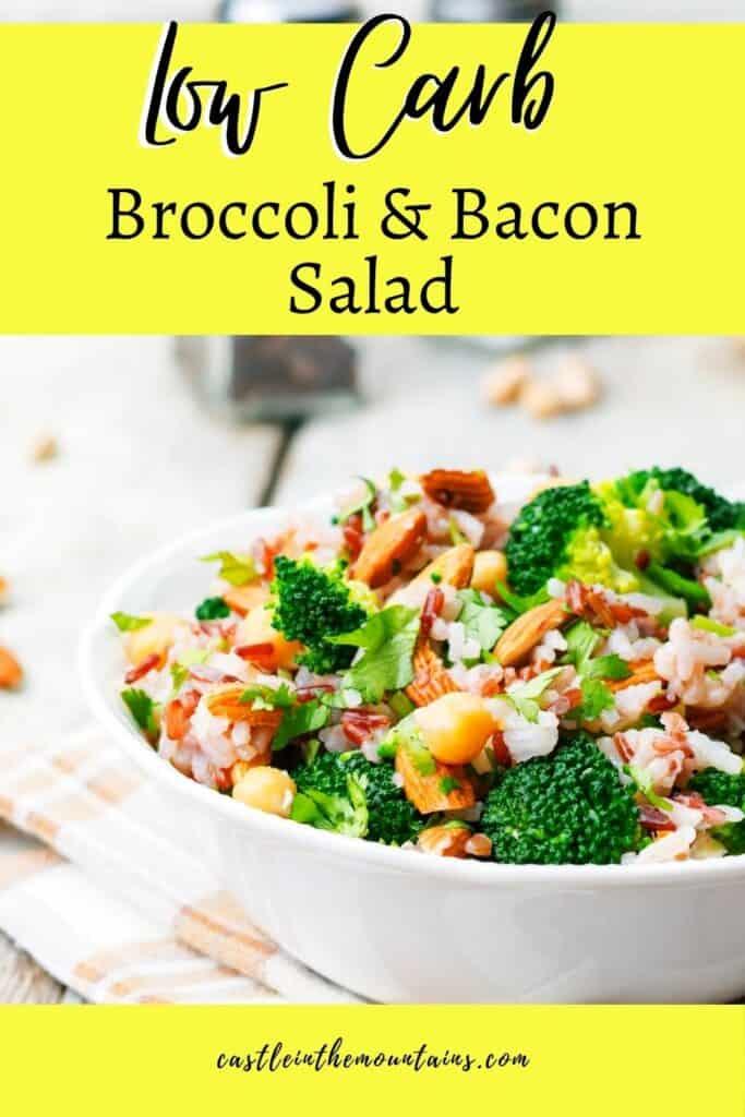 Keto Broccoli Bacon Salad Pins (3)