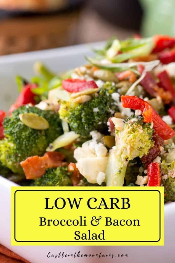 Keto Broccoli Bacon Salad Pins (4)