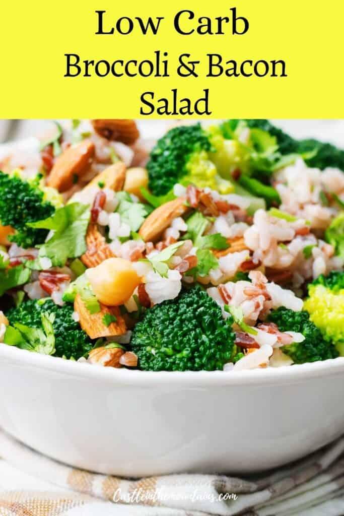 Keto Broccoli Bacon Salad Pins (5)