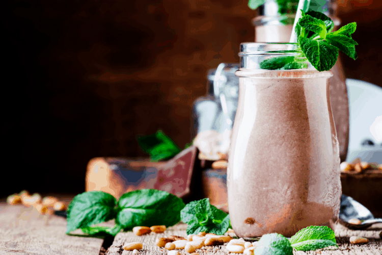 Keto Chocolate Mint Shake Recipe (1)
