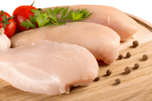 Chicken Breasts Raw Prepare