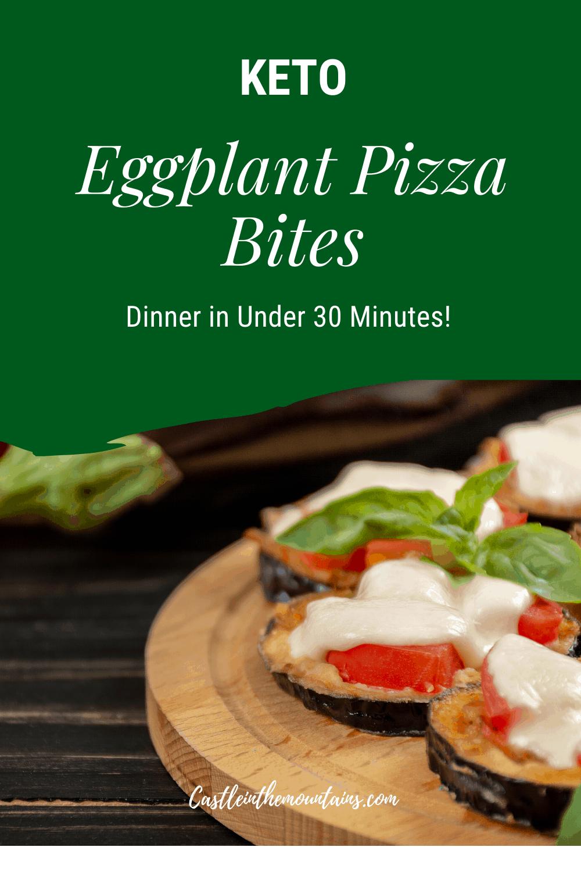 Keto Eggplant Pizza Bites