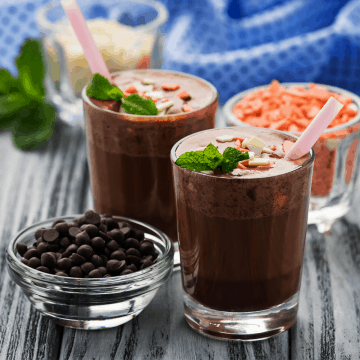 Keto Mint Chocolate Shake Recipe