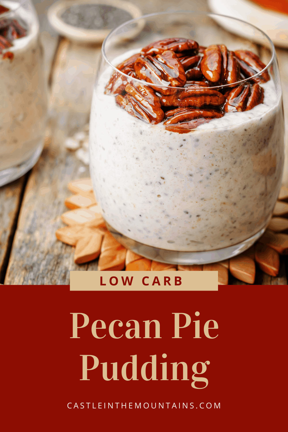 Keto Pecan Pie Pudding