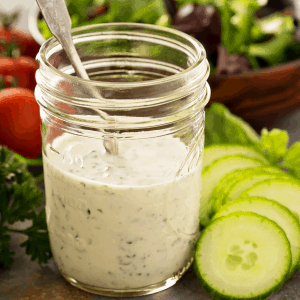 Keto Ranch Dressing Featured Image