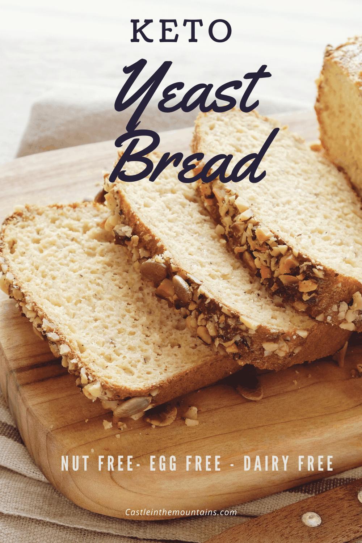 Fluffy Keto Yeast Bread