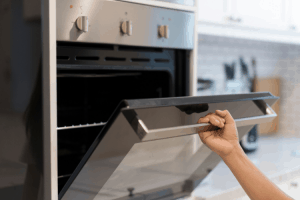 Preheat baking oven