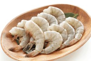 Shrimp and Zoodles- raw shrimp