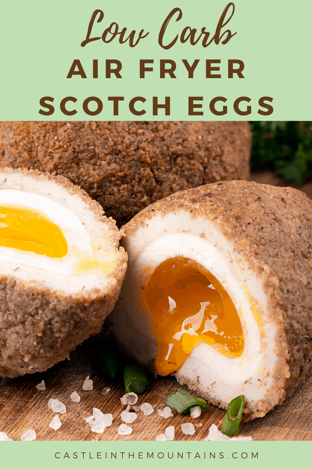 Keto Air Fryer Scotch Eggs