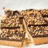 Keto Peanut Butter Cup Bars -No Bake