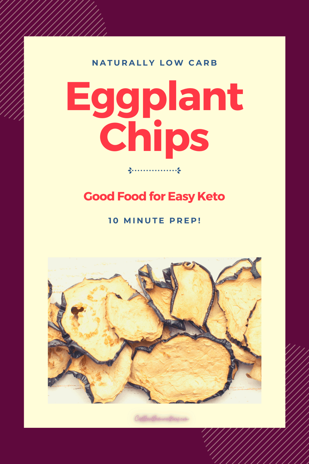 Spicy Eggplant Chips