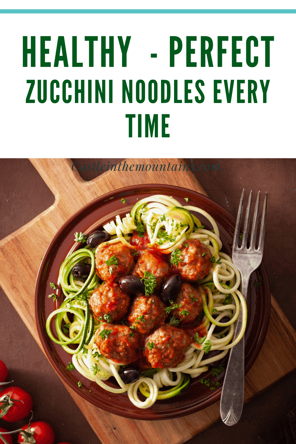 How to make Zucchini Noodles
