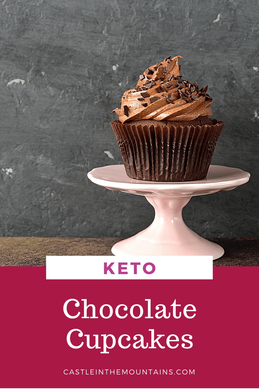 Keto Chocolate Cupcakes