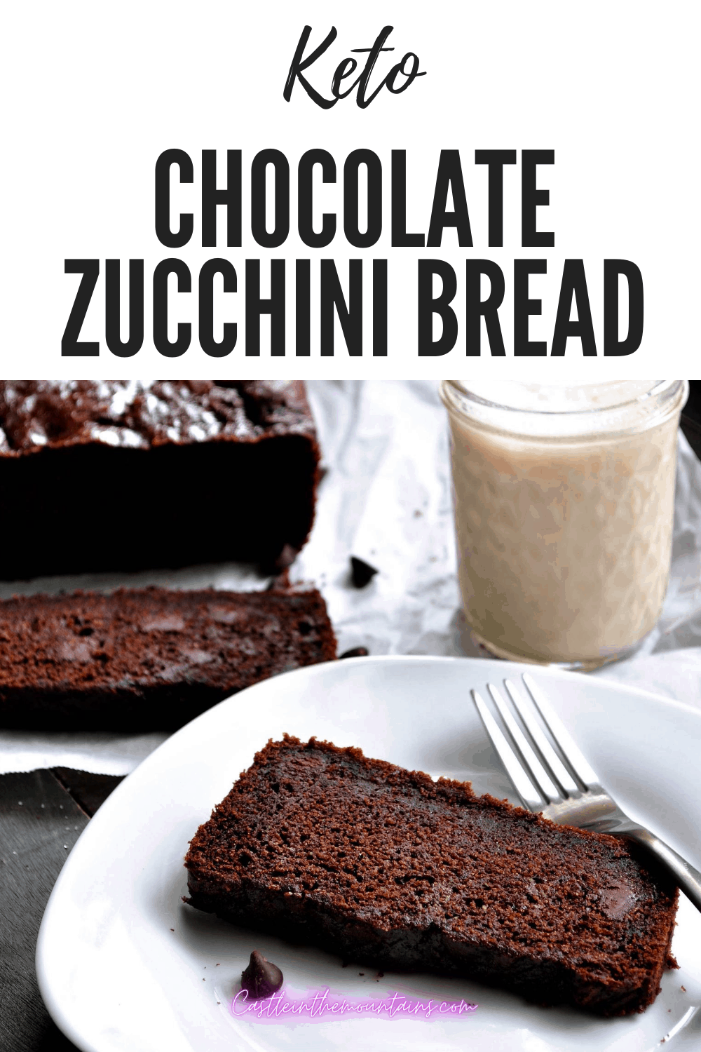 Keto Chocolate Zucchini Bread