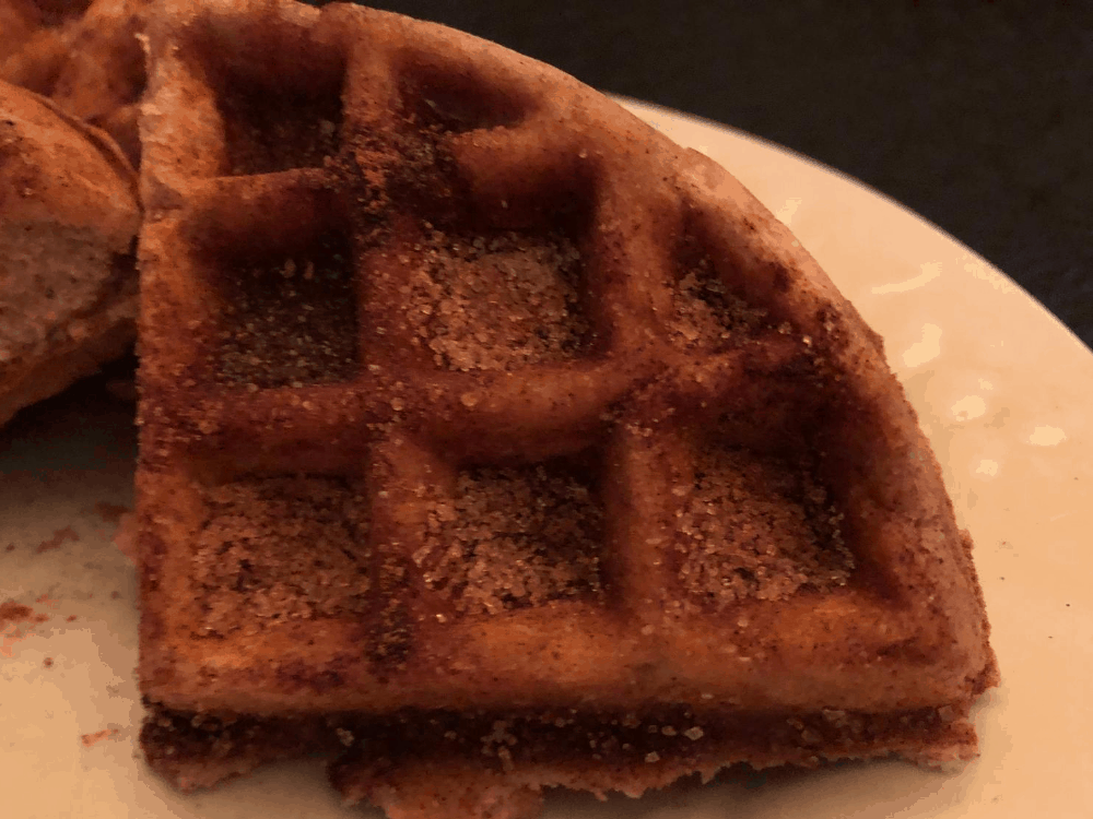 Keto Churro Chaffles post