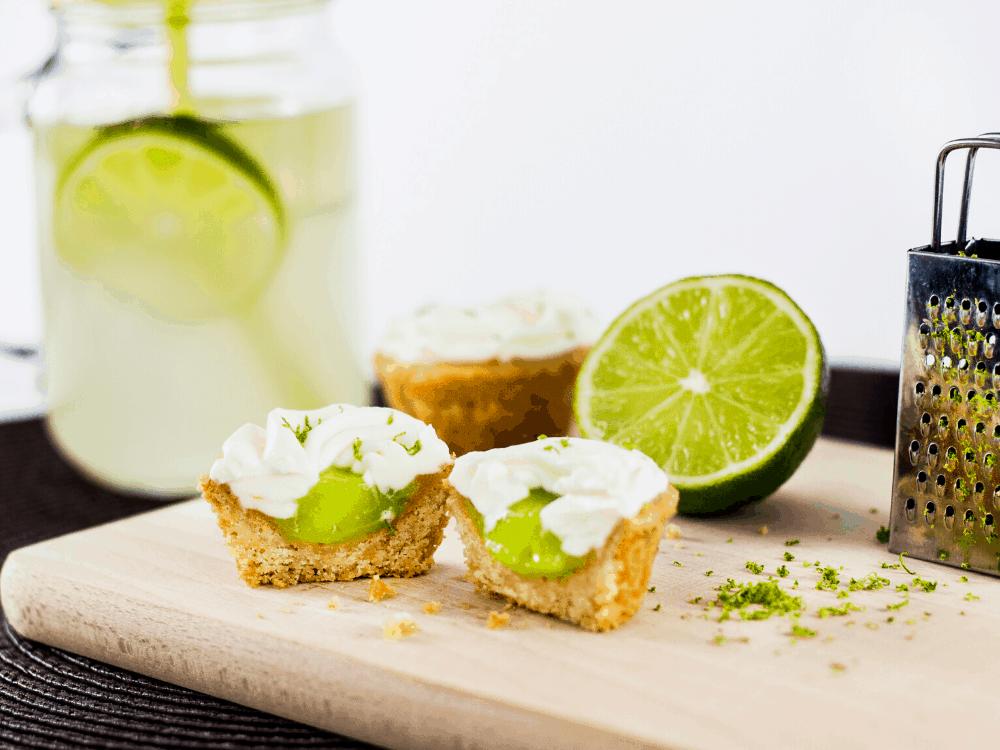 Served Keto Key Lime Mini tarts