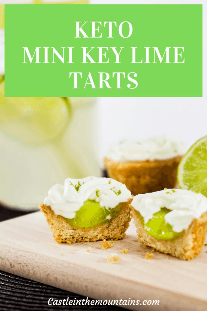 Keto Key Lime Mini Tarts Pins (1)