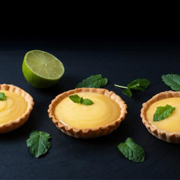 Keto Key Lime mini tarts recipe FI