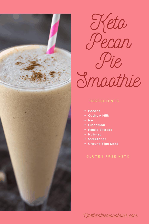 Pecan Pie Smoothie