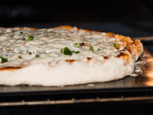 Low carb white pizza Baking
