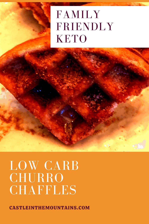 Keto Cinnamon Churro Chaffles