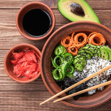 Keto California Roll Bowl FI