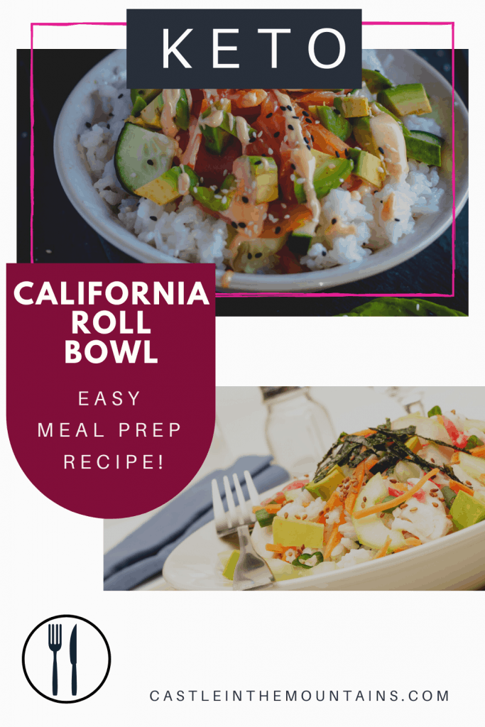 Keto California Roll Bowl Pins (4)