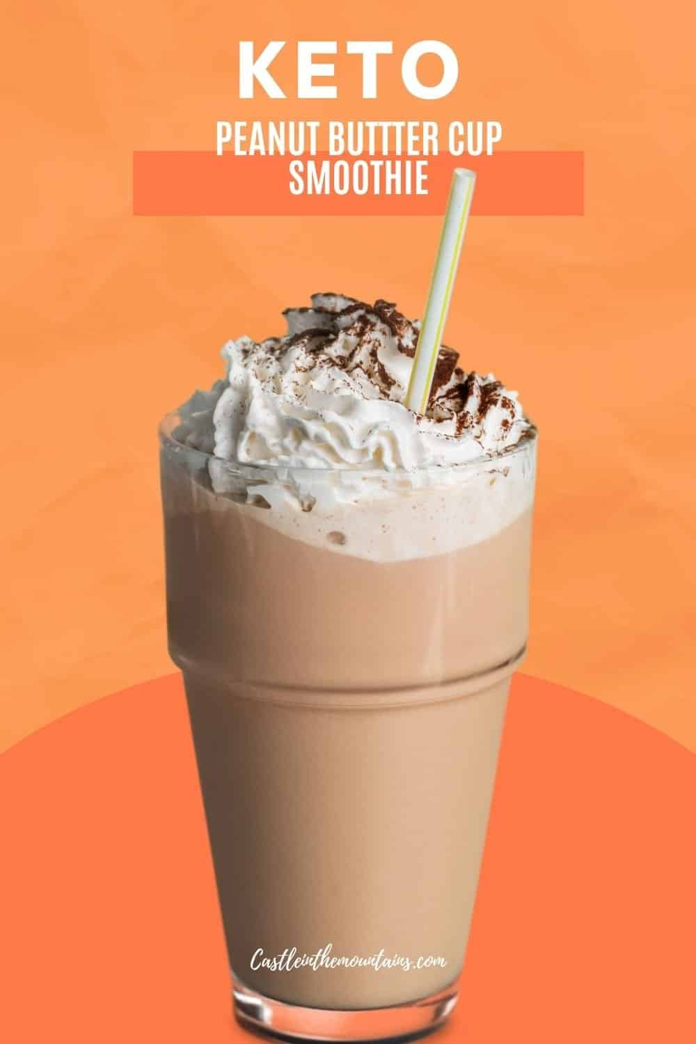 Peanut Butter Cup Smoothie - How to make the best low carb smoothie ever!