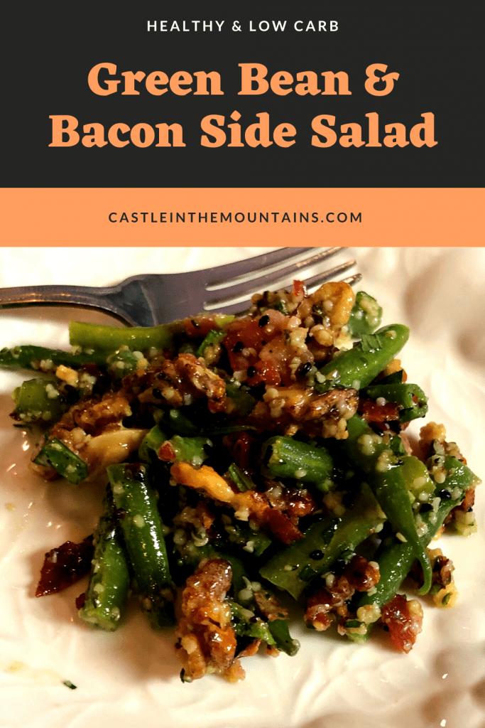 Low Carb Green Bean Salad Pins (4)
