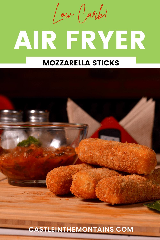 Air Fryer Mozzarella Sticks - How to make Pub Cheese Sticks
