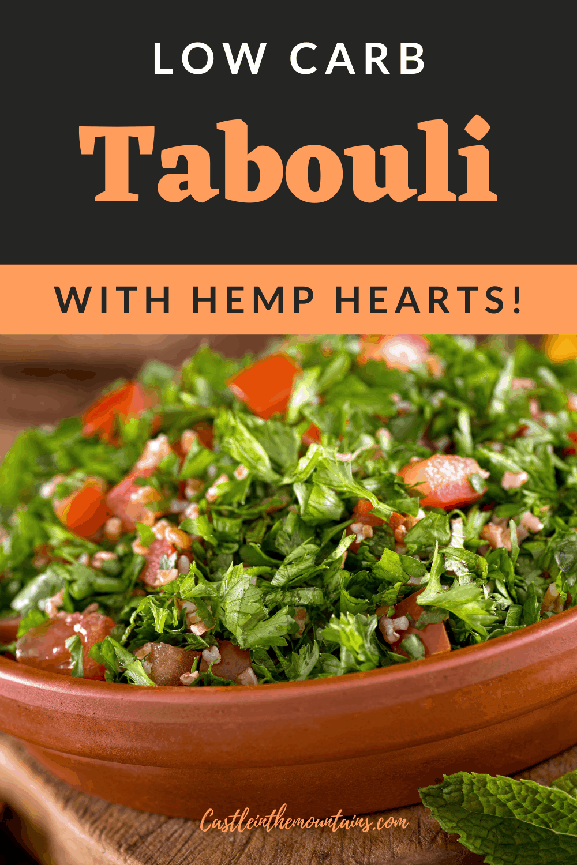 Low Carb Tabouli Recipe