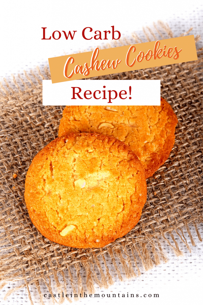 Low carb cashew cookie pins (5)