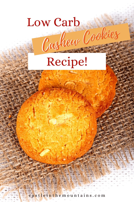 Buttery Cashew Cookies
