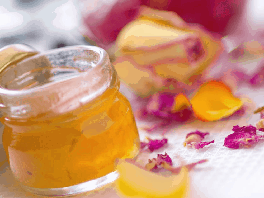 Low carb orange marmalade in a jar