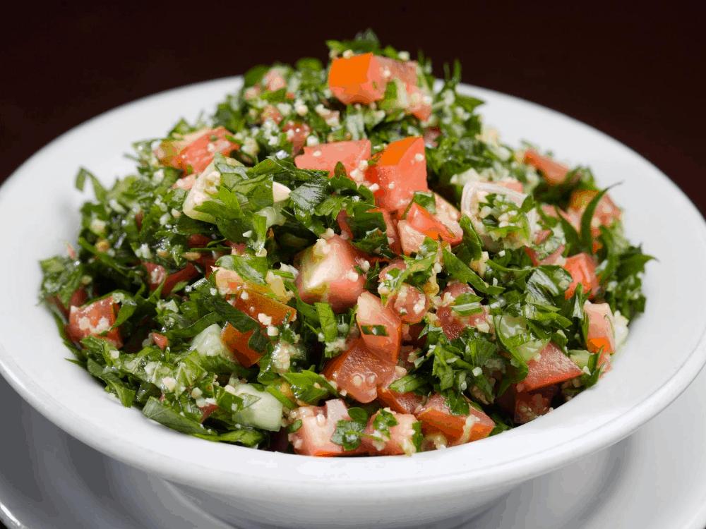 Low carb tabouli salad recipe post