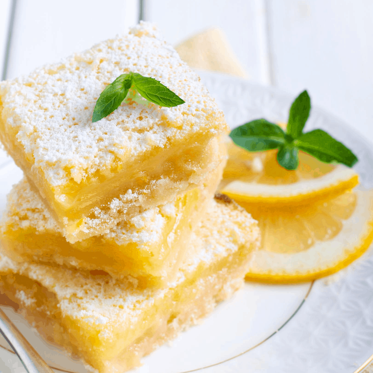 Sugar free lemon squares FI