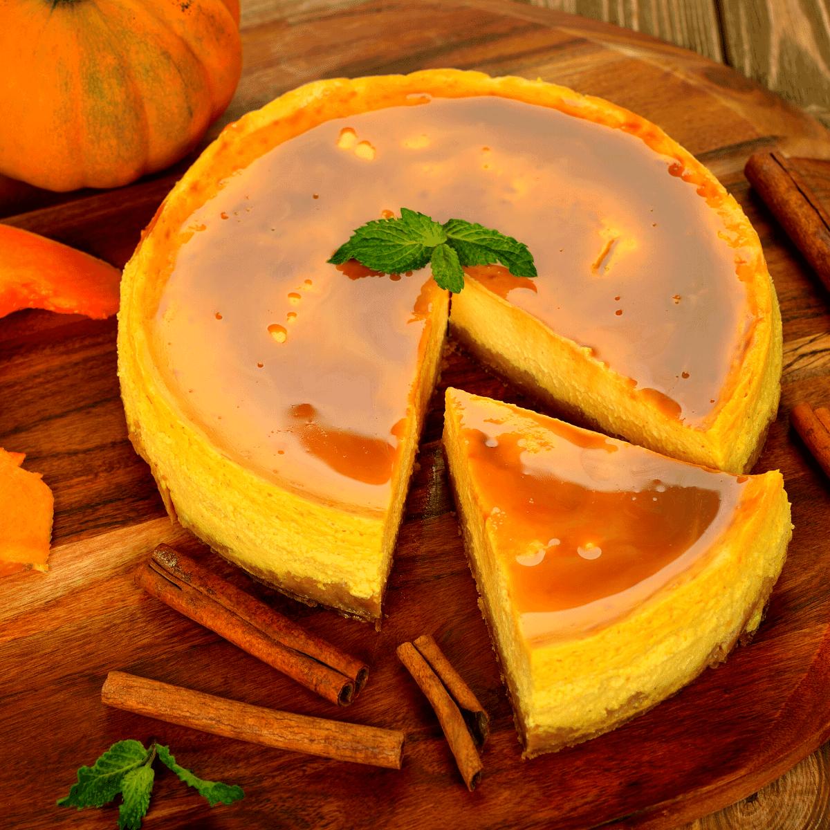 Instant pot keto pumpkin cheesecake