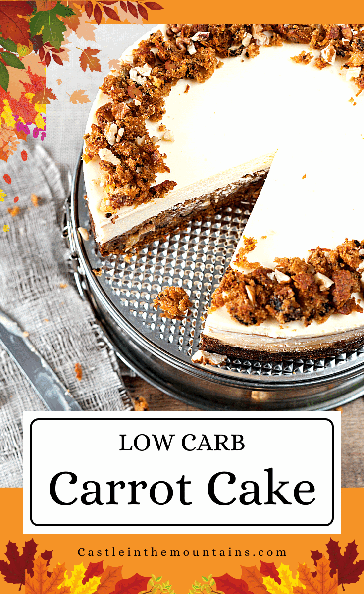 Keto Carrot Cake - How to make the best low carb cake ever!