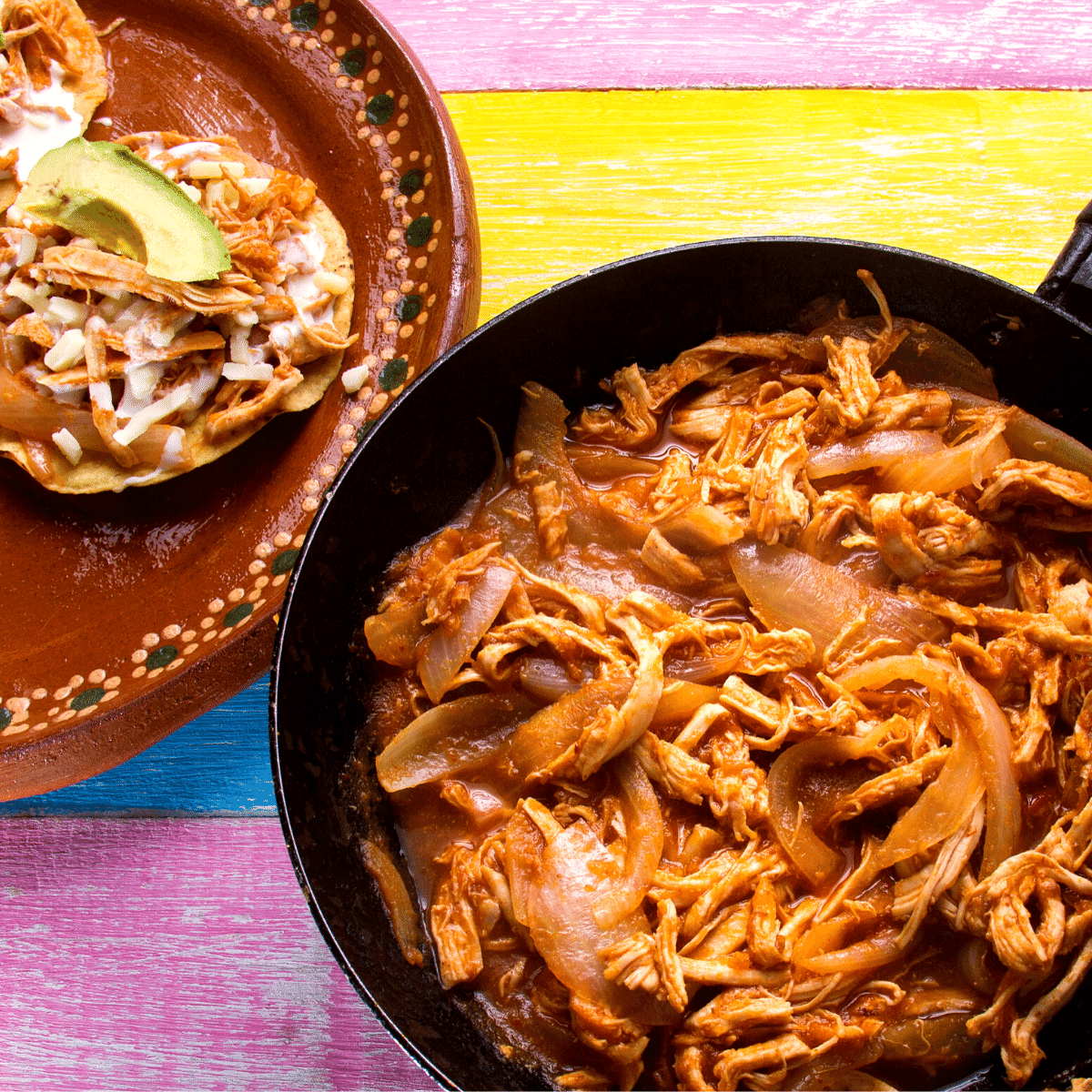 How to make low carb chicken tinga