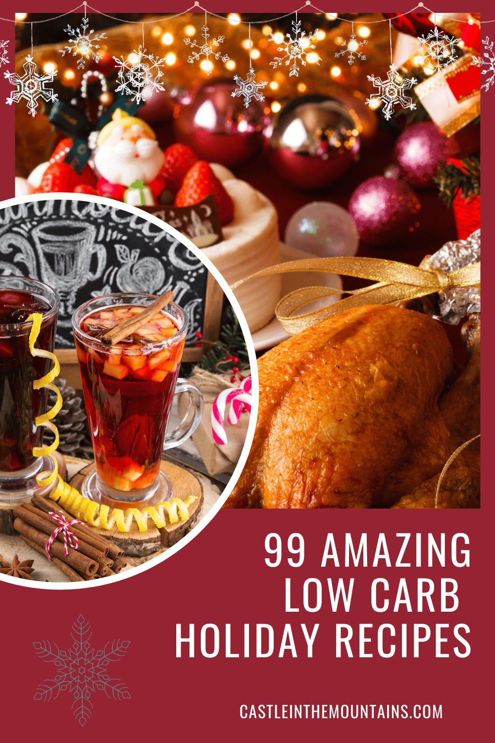 99 Low Carb Holiday Recipes- Easy to make dishes!