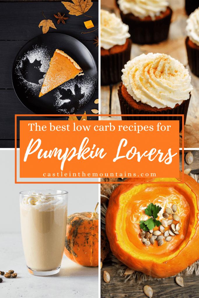 Best Low Carb Pumpkin Recipes Pins (4)