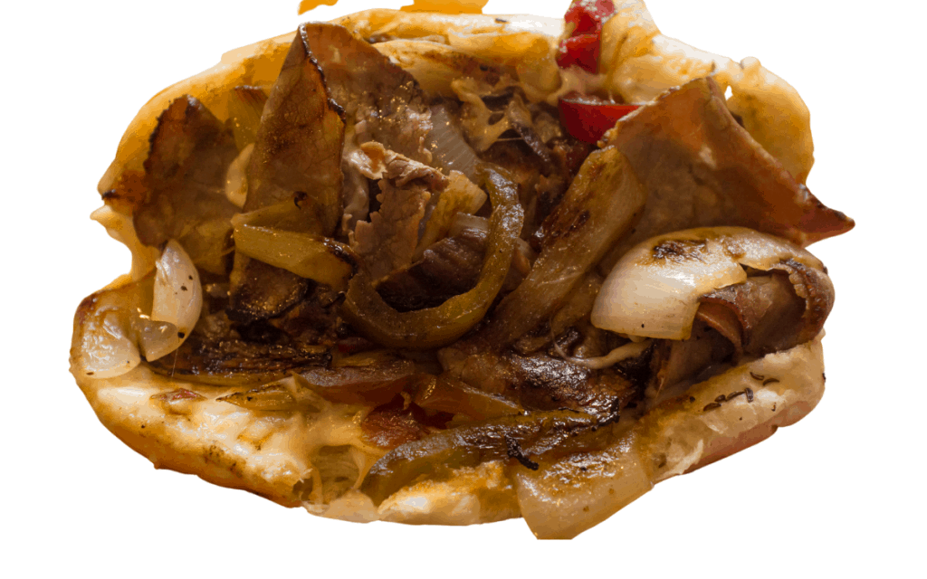 Served Crock Pot Philly Cheese Steak Post (1)