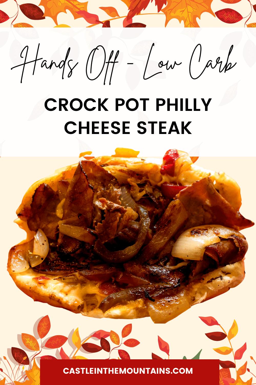 Crock Pot Philly Cheese Steak