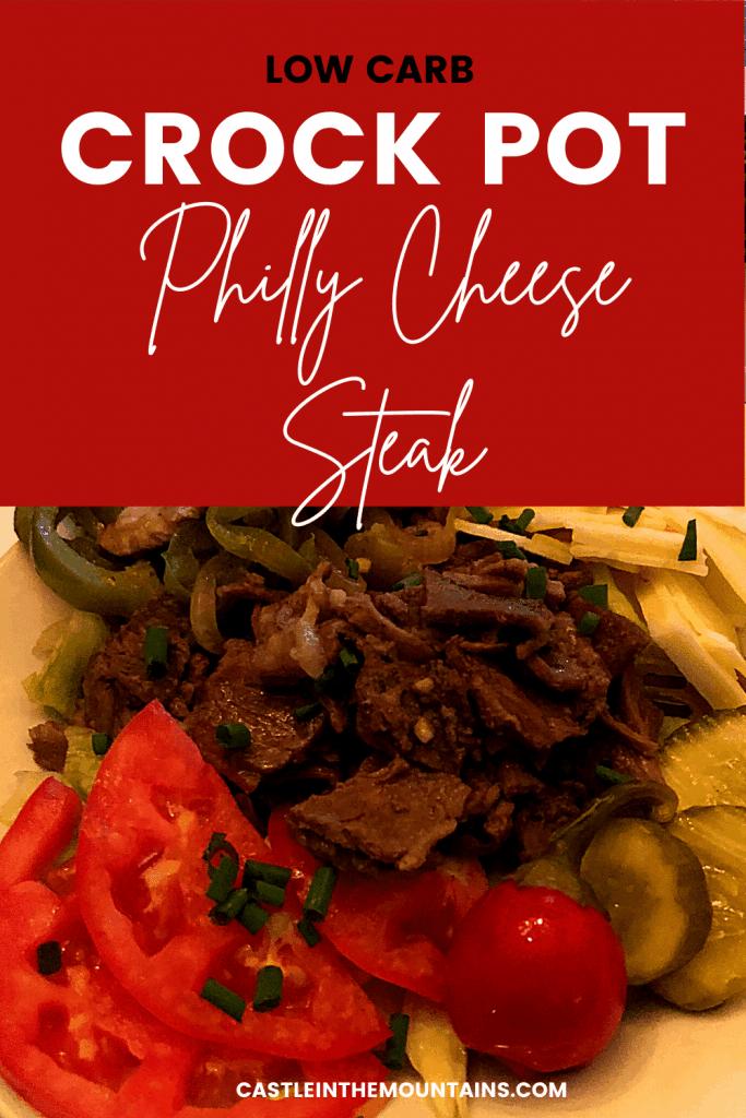 Crock pot philly Cheese steak (5)